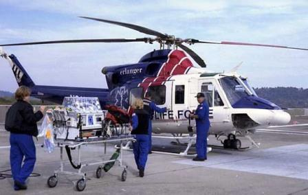 air ambulance helicopter in Aviation,